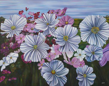 Flowering Cosmos Print