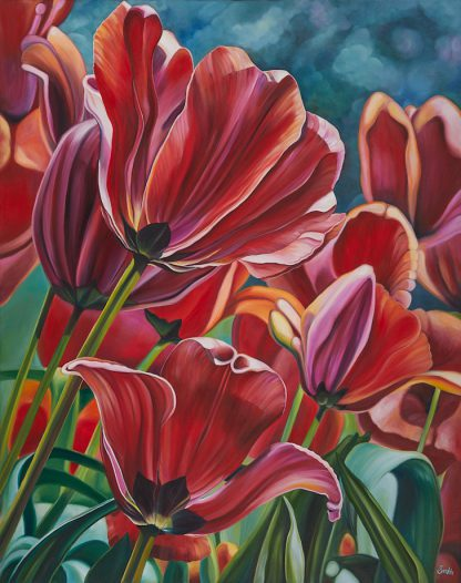 Spring Tulips Print